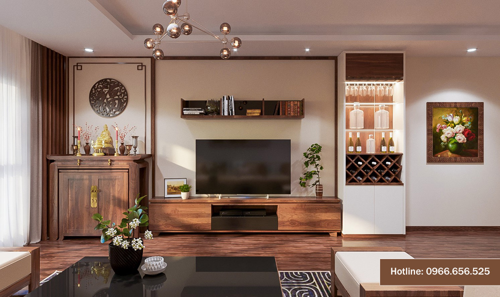 mẫu thiết kế nội thất chung cư sang trọng hiện đại 9
