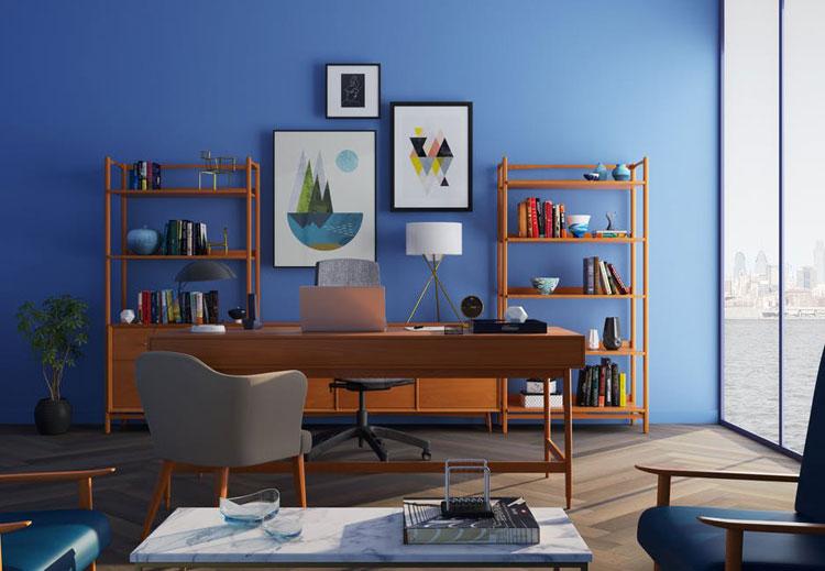 Mãn nhãn với mẫu thiết kế phòng làm việc tại nhà đầy phong cách