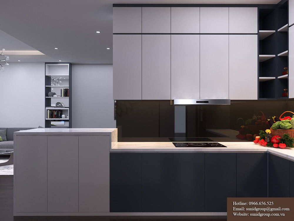 thiết kế nội thất chung cư rẻ đẹp tại hà nội 10