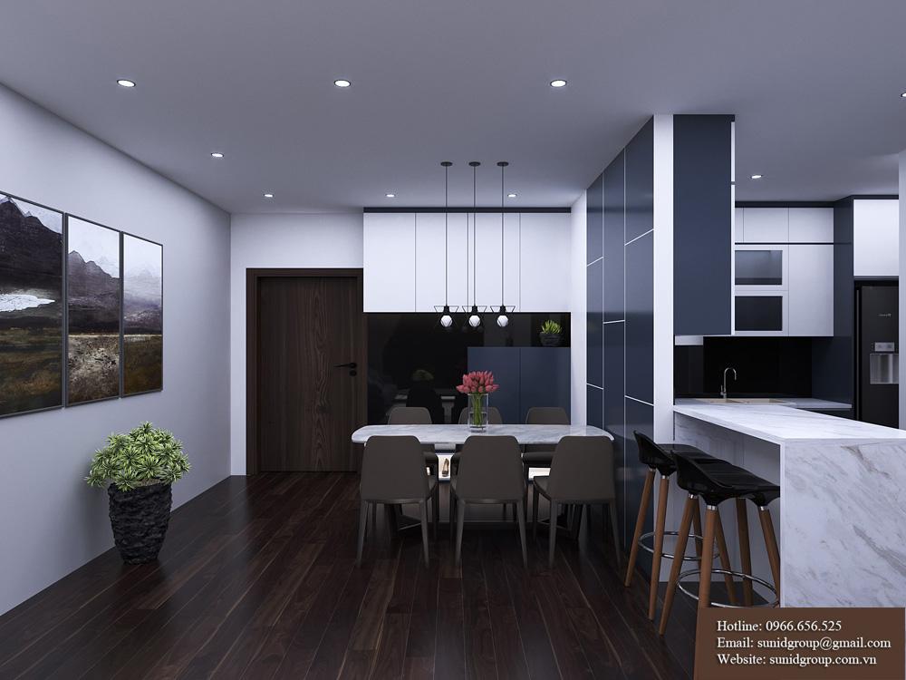 thiết kế nội thất chung cư rẻ đẹp tại hà nội 4