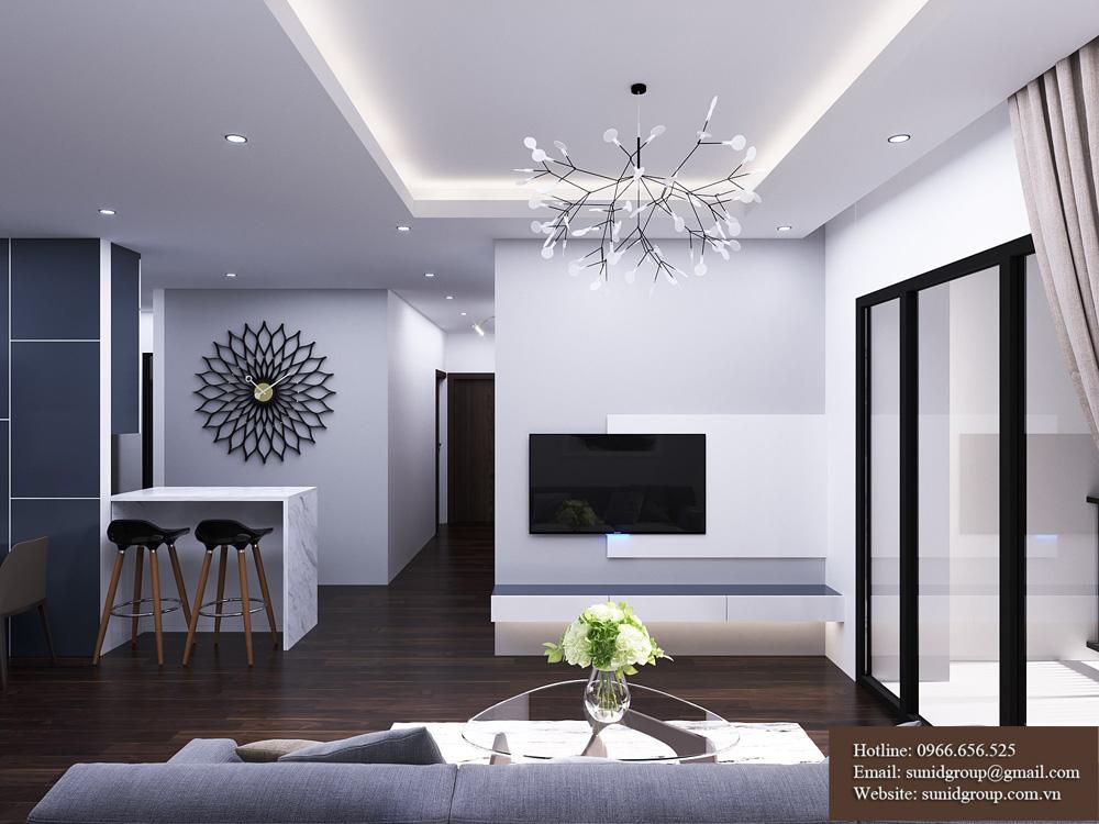 Thiết kế nội thất chung cư rẻ đẹp tại Hà Nội