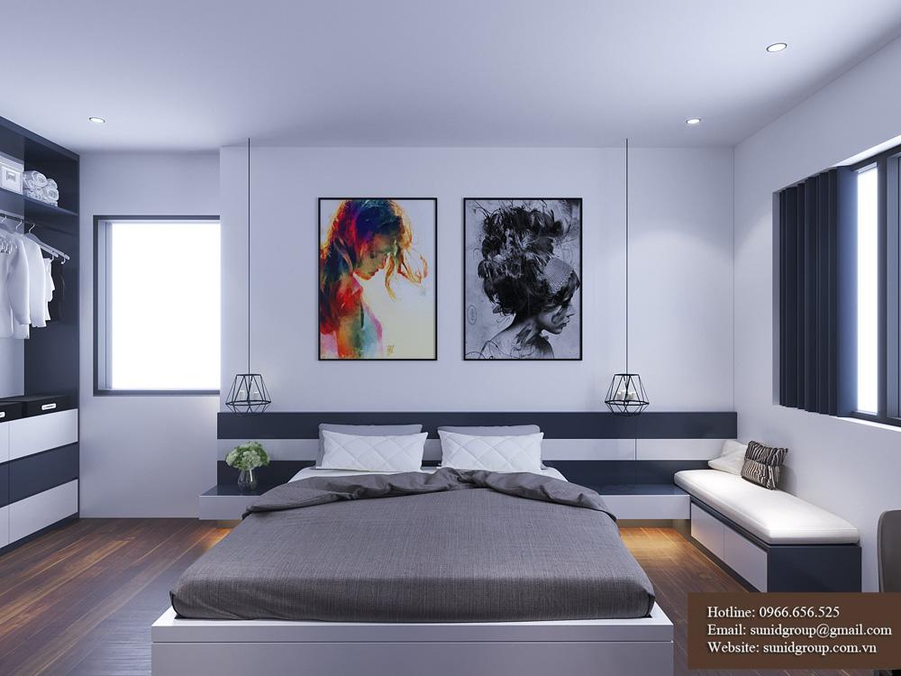 thiết kế nội thất chung cư rẻ đẹp tại hà nội 9