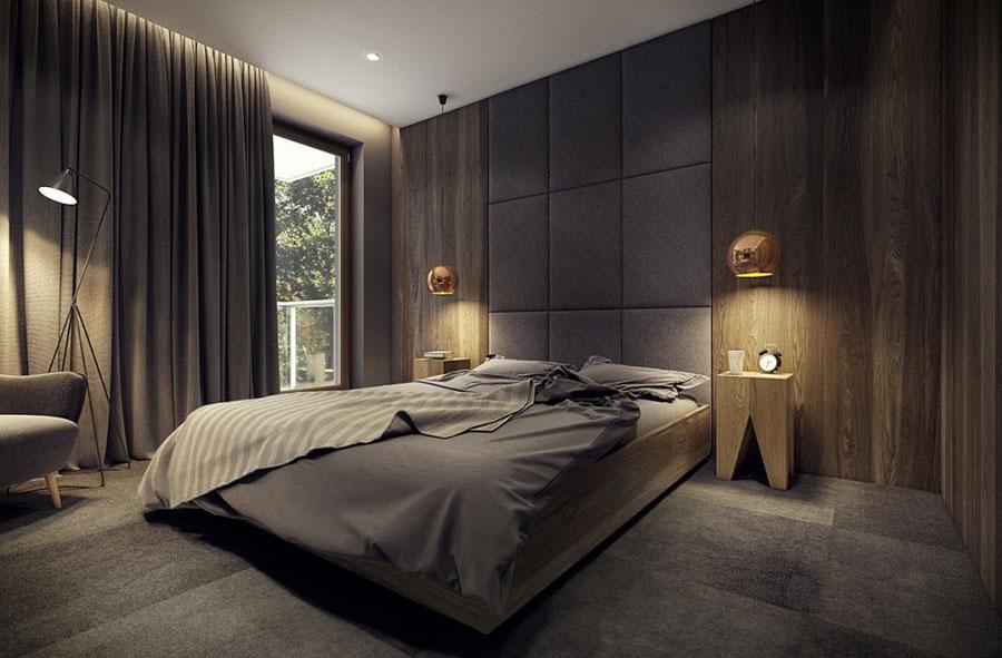 thiết kế phòng ngủ ấm áp
