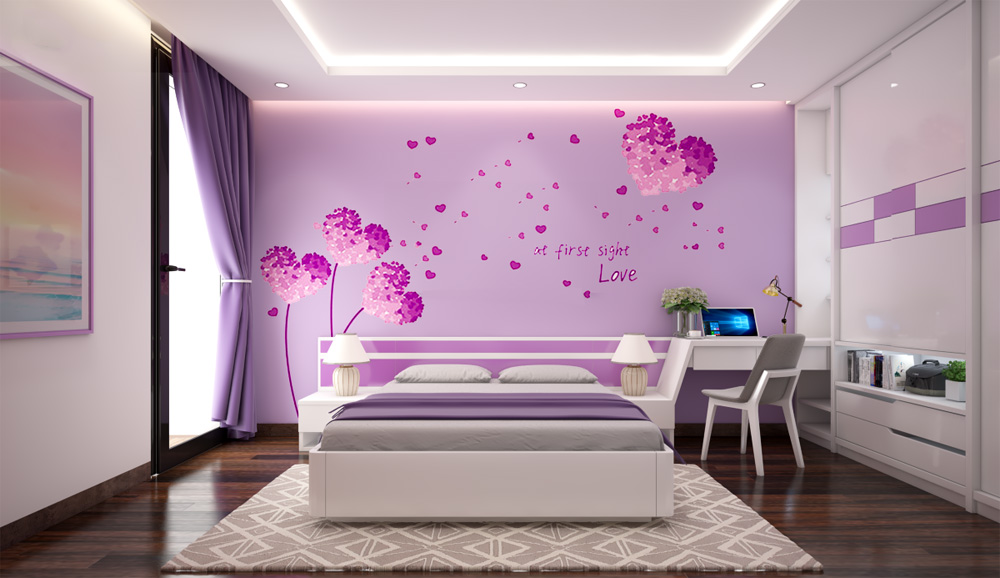 thiết kế thi công nội thất phòng cưới 1