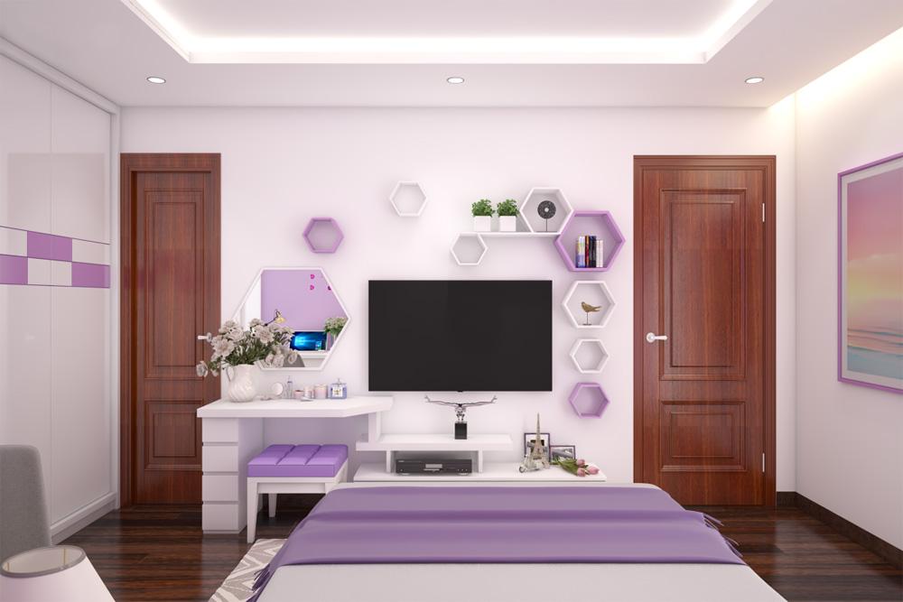 thiết kế thi công nội thất phòng cưới 2