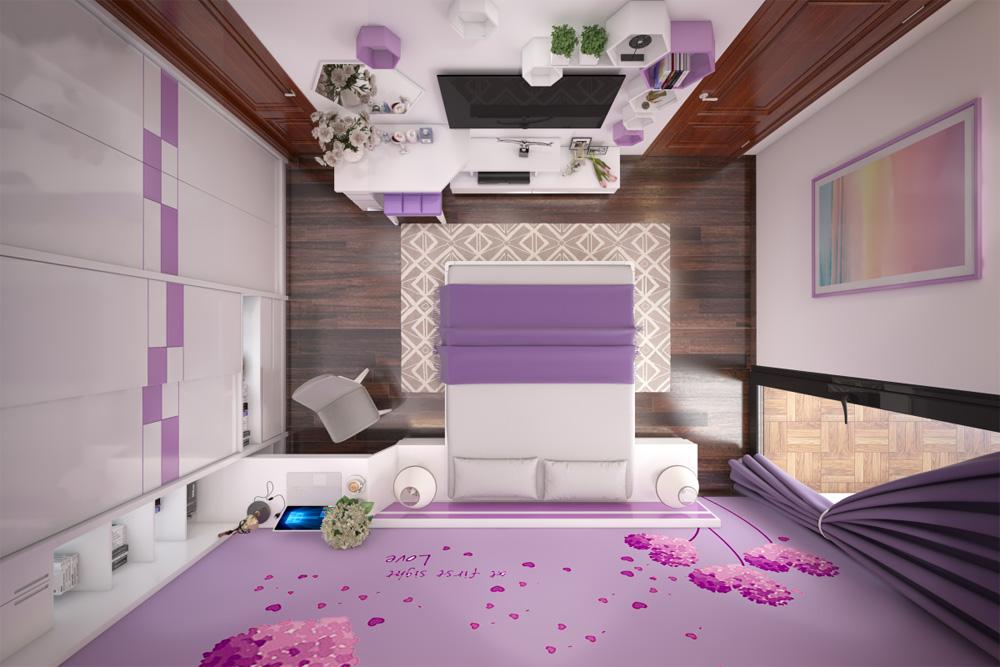 thiết kế thi công nội thất phòng cưới 5