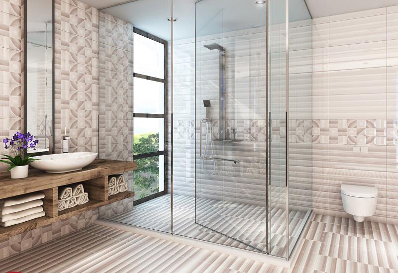 Ý tưởng thiết kế phòng tắm đẹp dành cho không gian nhỏ