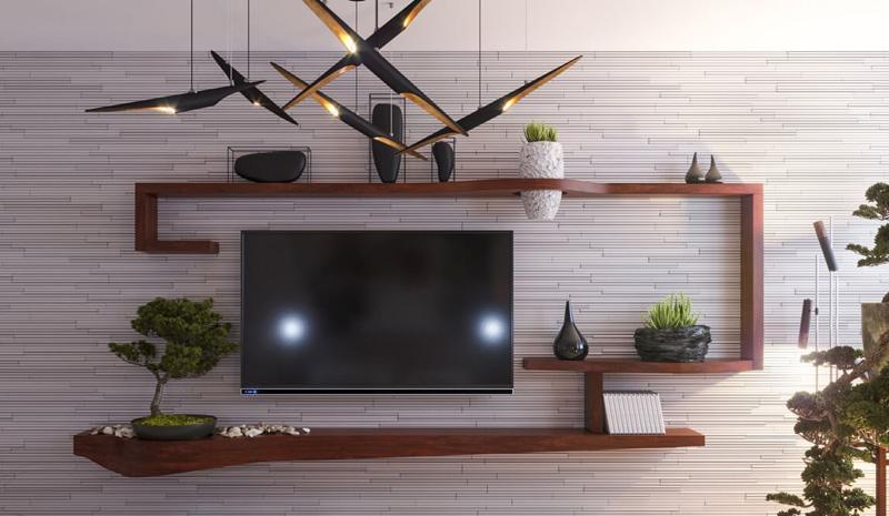 Những mẫu kệ tivi đẹp tô điểm cho phòng khách thêm sang trọng