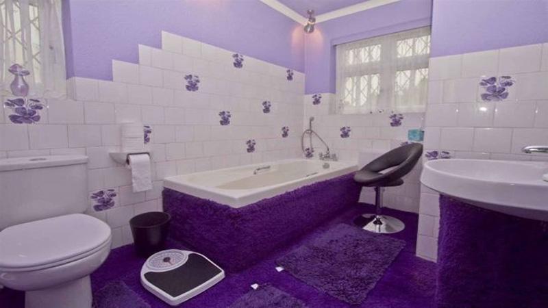 thảm trải sàn phòng tắm