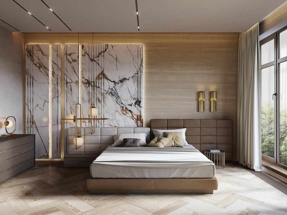 thiết kế nội thất đá cẩm thạch 10