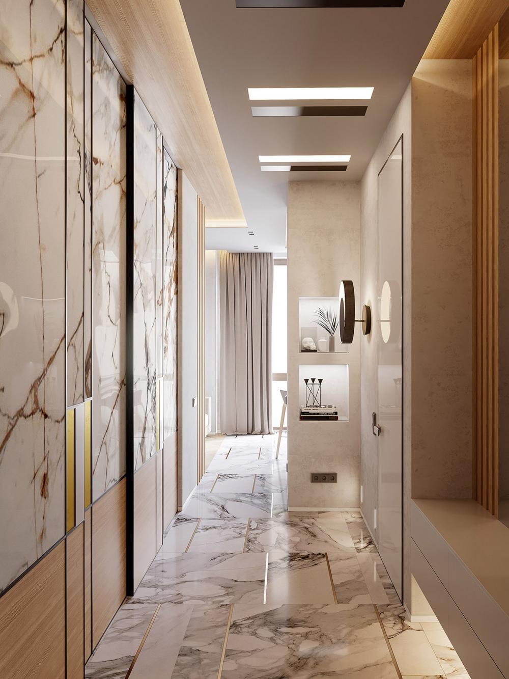 thiết kế nội thất đá cẩm thạch 2