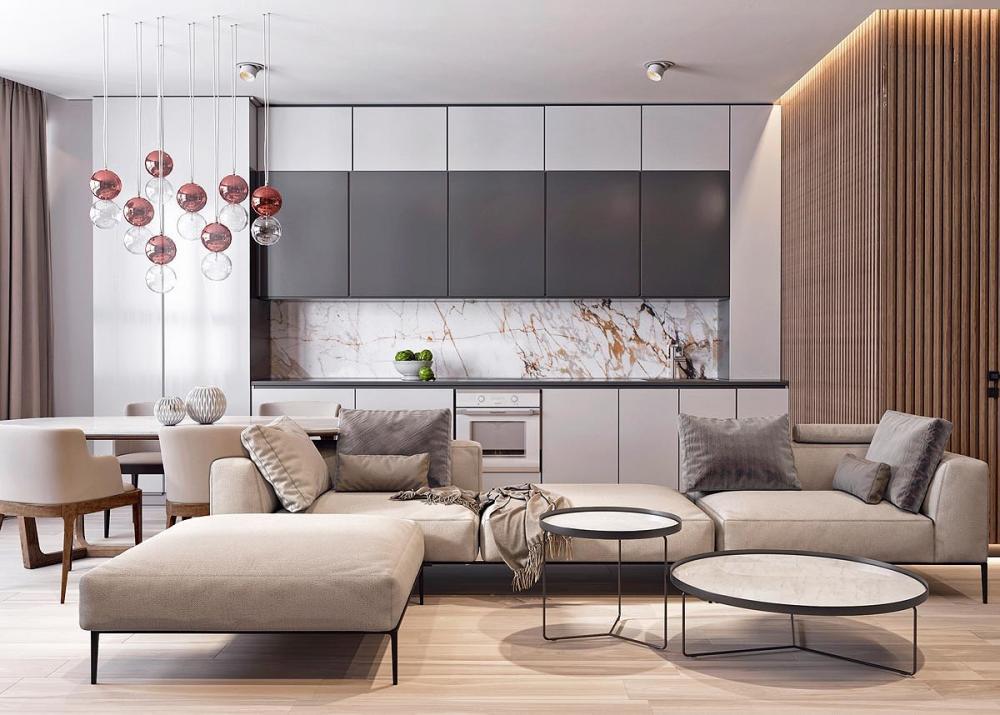 thiết kế nội thất đá cẩm thạch 3