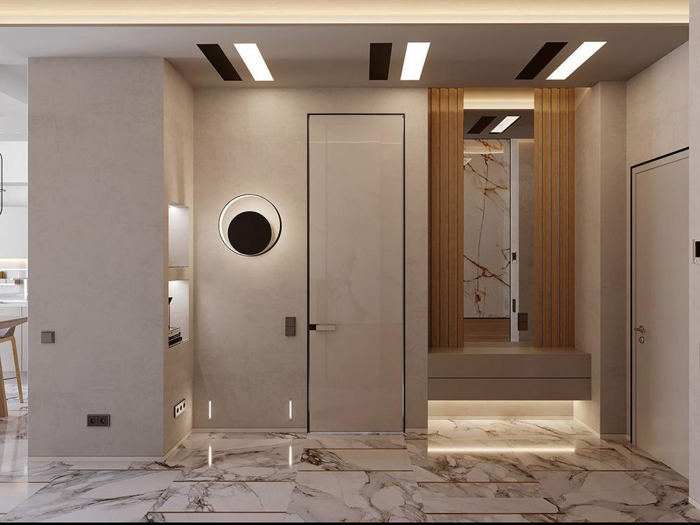 thiết kế nội thất đá cẩm thạch 4