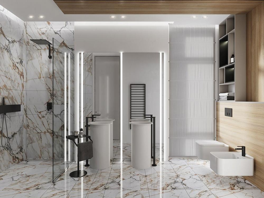 thiết kế nội thất đá cẩm thạch 6