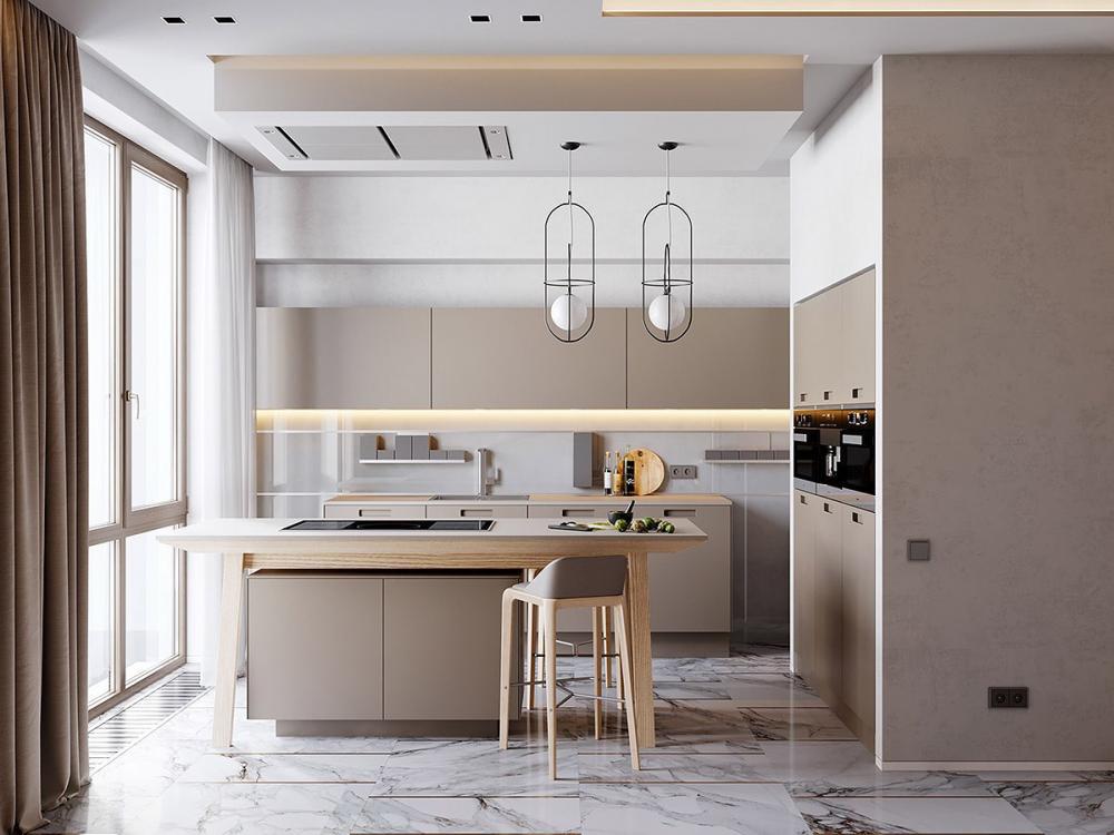 thiết kế nội thất đá cẩm thạch 7