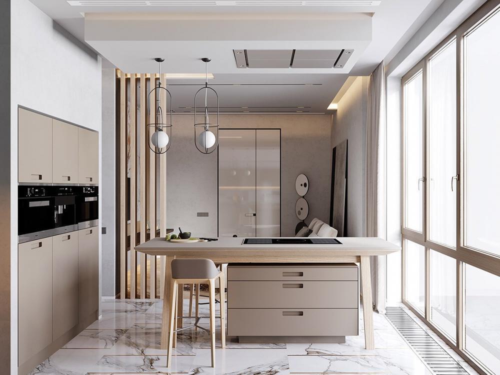 thiết kế nội thất đá cẩm thạch 8