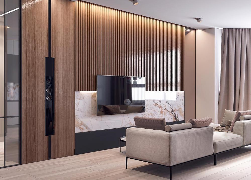 thiết kế nội thất đá cẩm thạch 9