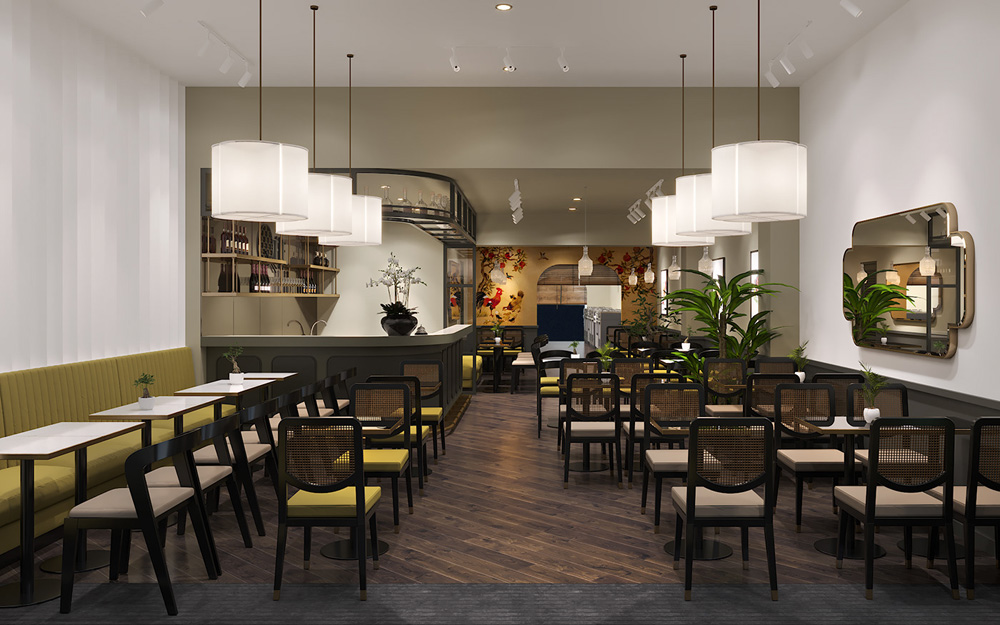 thiết kế thi công nội thất nhà hàng đẹp tại hà nội 11
