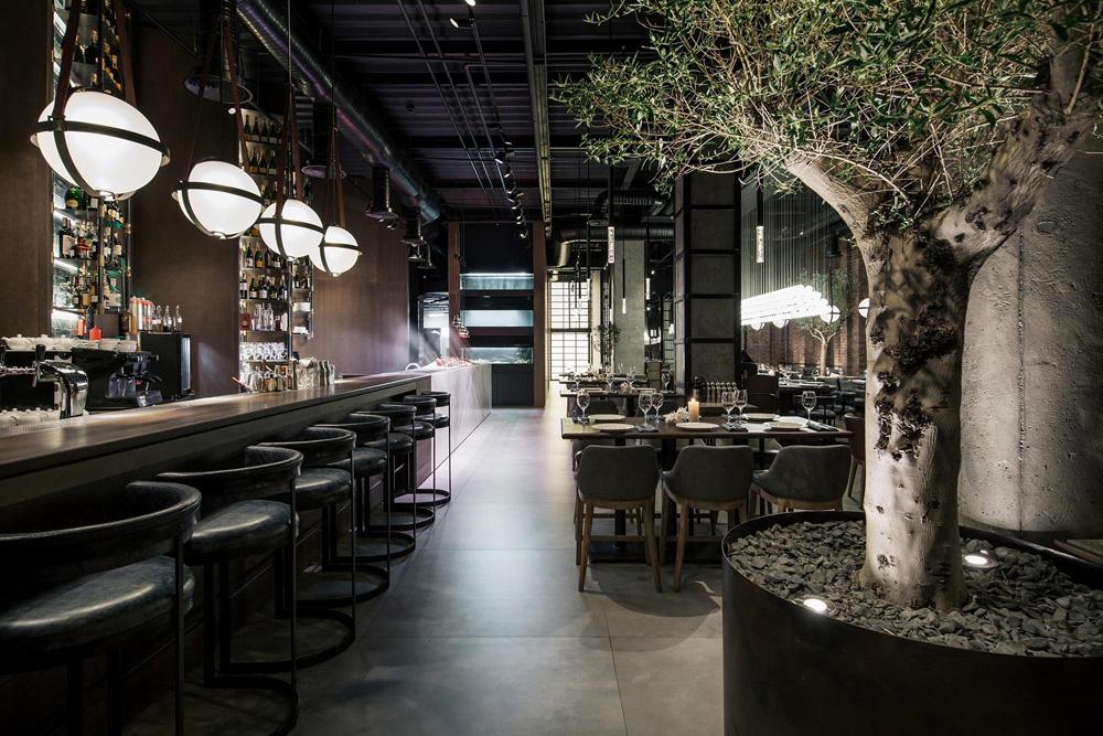 thiết kế thi công nội thất nhà hàng đẹp tại hà nội 13