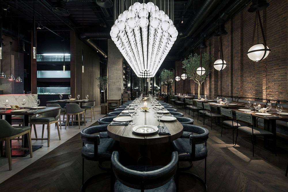 thiết kế thi công nội thất nhà hàng đẹp tại hà nội 14