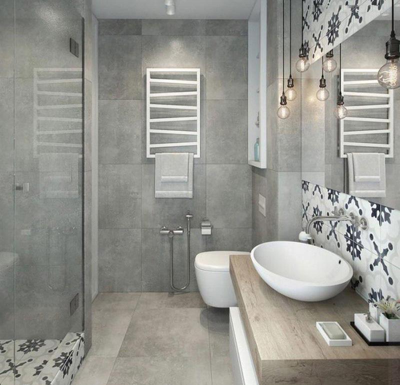 tiết kiệm diện tích phòng tắm