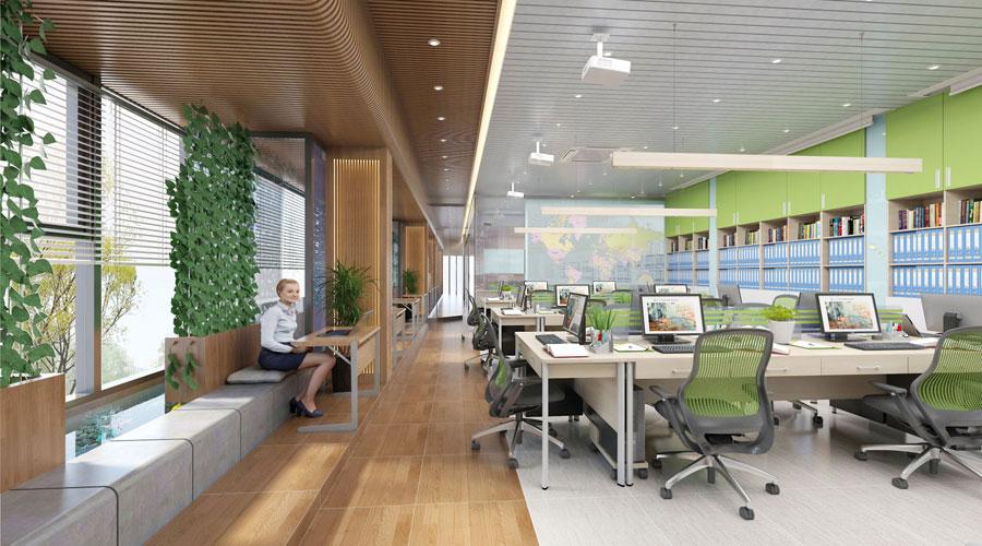 5 tiêu chí cần có khi thiết kế nội thất văn phòng