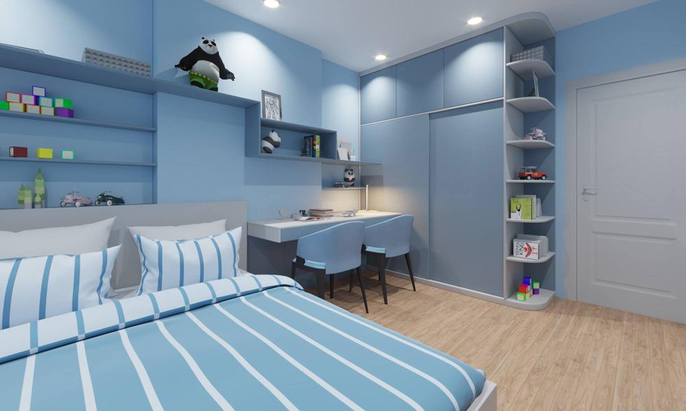 thiết kế biệt thự 3 phòng ngủ