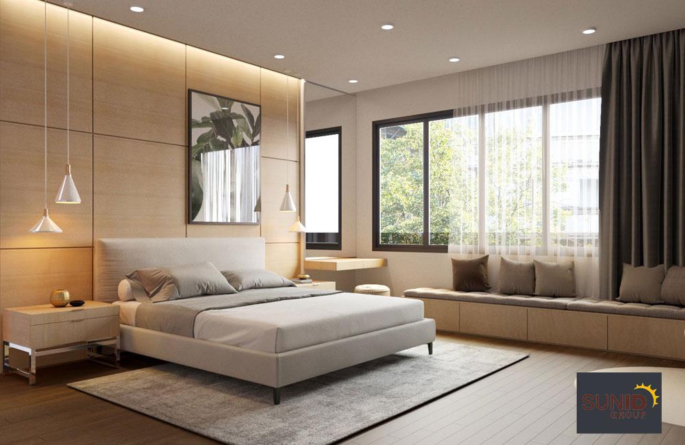 thiết kế nội thất biệt thự cao cấp 3 phòng ngủ 9