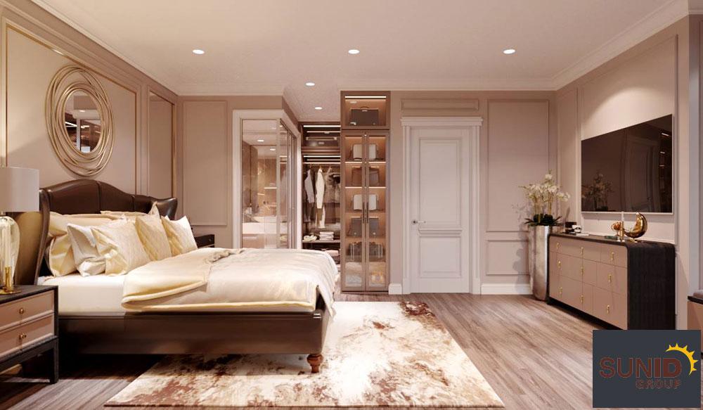 thiết kế nội thất chung cư tân cổ điển cao cấp 10