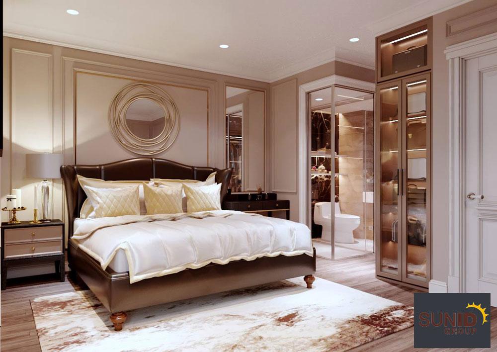 thiết kế nội thất chung cư tân cổ điển cao cấp 11