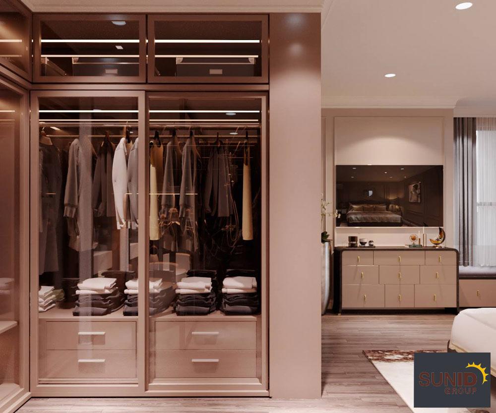 thiết kế nội thất chung cư tân cổ điển cao cấp 12