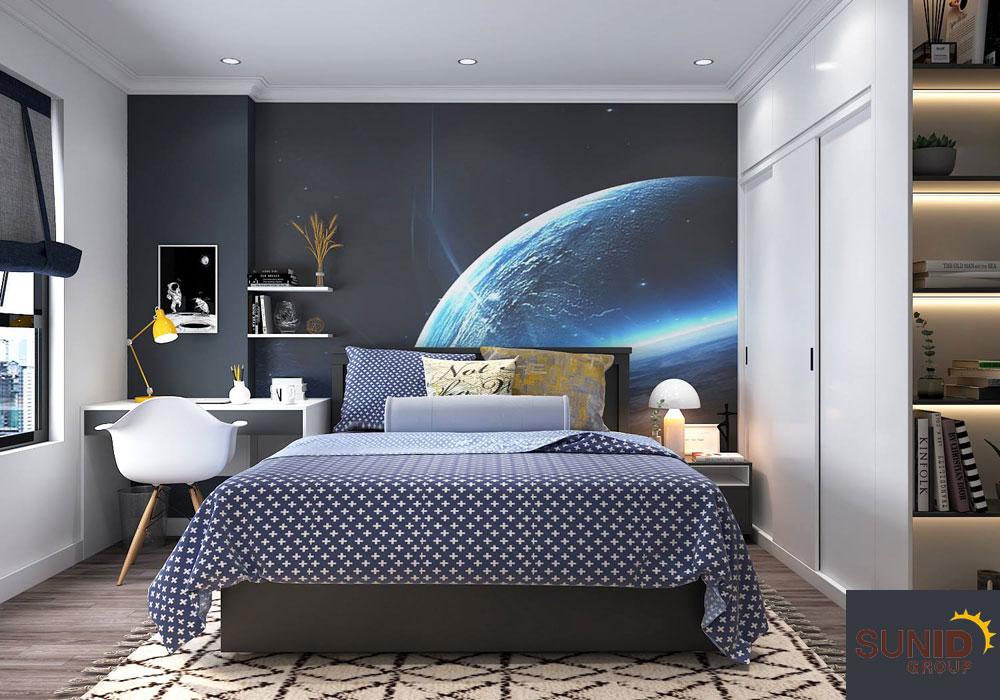 thiết kế nội thất chung cư tân cổ điển cao cấp 15