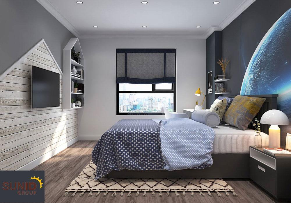 thiết kế nội thất chung cư tân cổ điển cao cấp 16