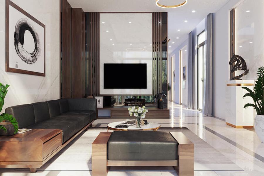 thiết kế nội thất biệt thự tinh tế 5