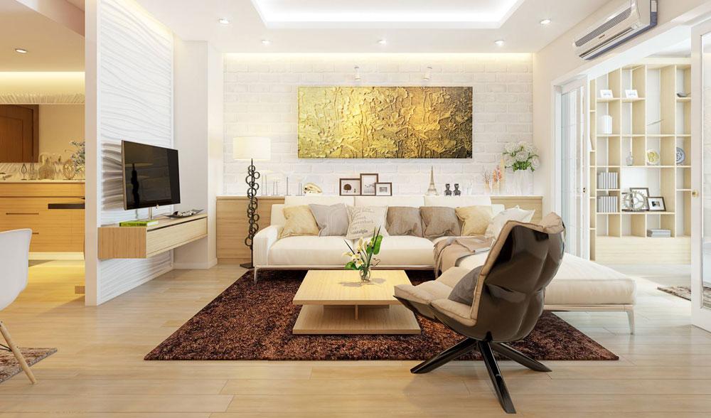 thiết kế nội thất chung cư đơn giản tối ưu chi phí 1