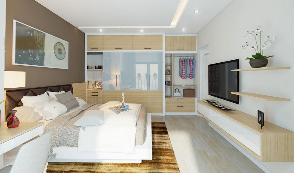 thiết kế nội thất chung cư đơn giản tối ưu chi phí 12