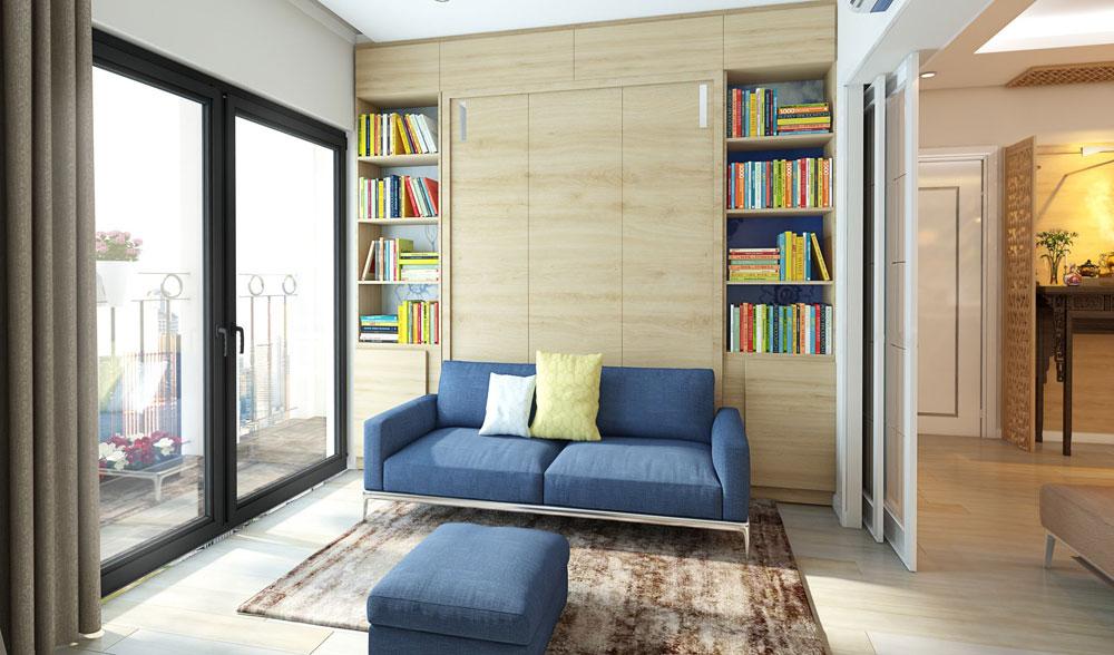 thiết kế nội thất chung cư đơn giản tối ưu chi phí 4