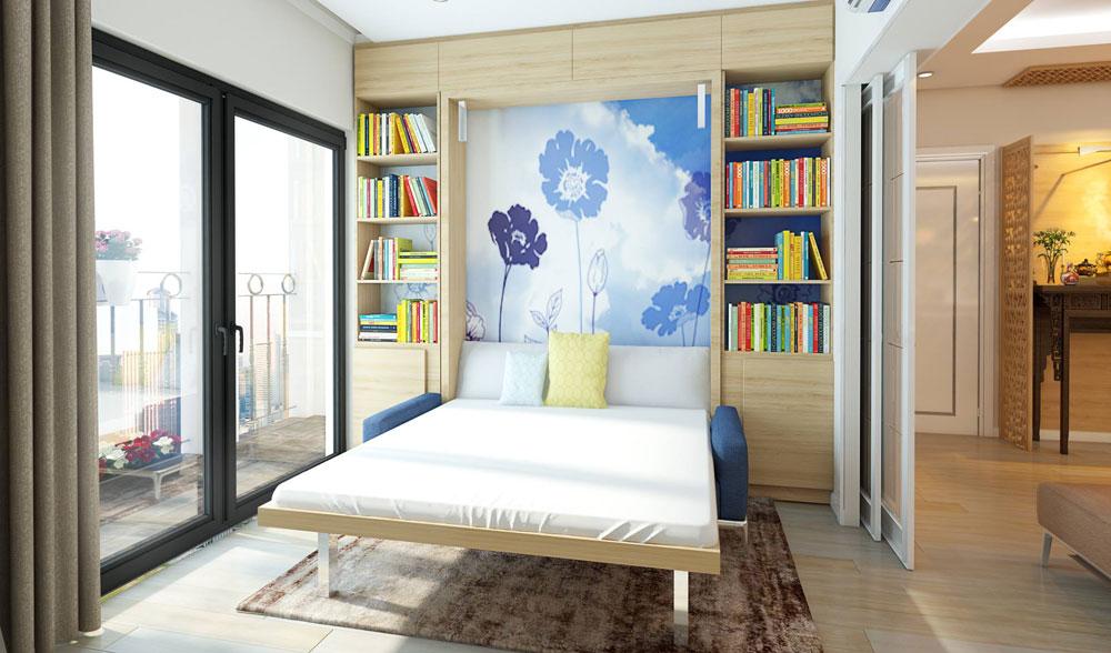 thiết kế nội thất chung cư đơn giản tối ưu chi phí 5