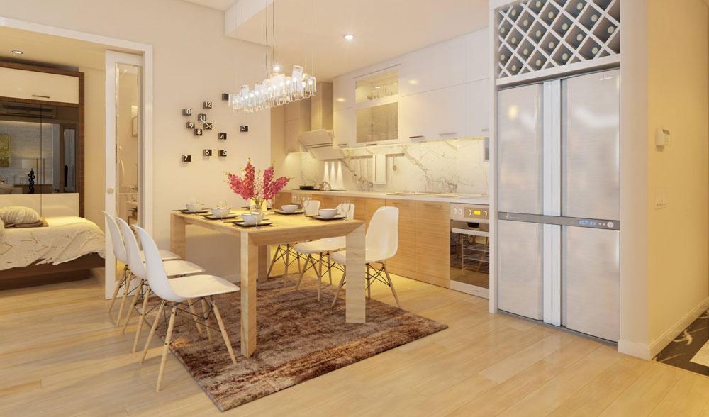 thiết kế nội thất chung cư đơn giản tối ưu chi phí 7