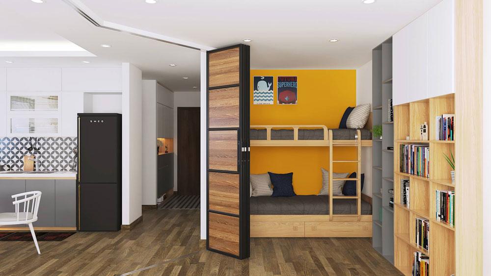 thiết kế nội thất chung cư 50m2 ảnh 2