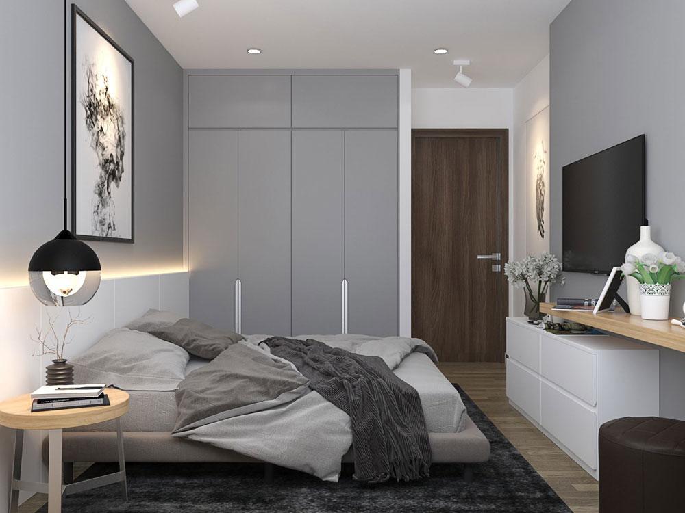 thiết kế nội thất chung cư 50m2 ảnh 5