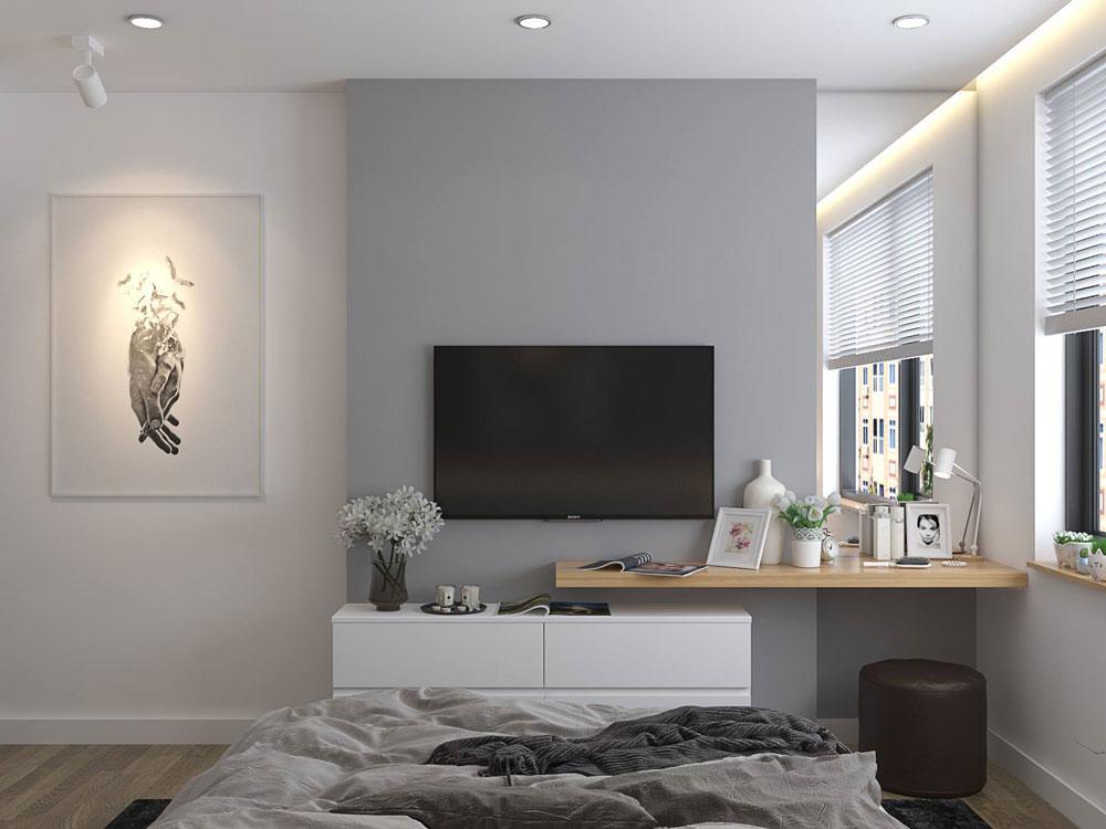 thiết kế nội thất chung cư 50m2 ảnh 7
