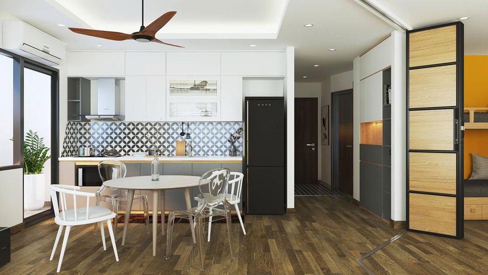 thiết kế nội thất chung cư 50m2 ảnh 8