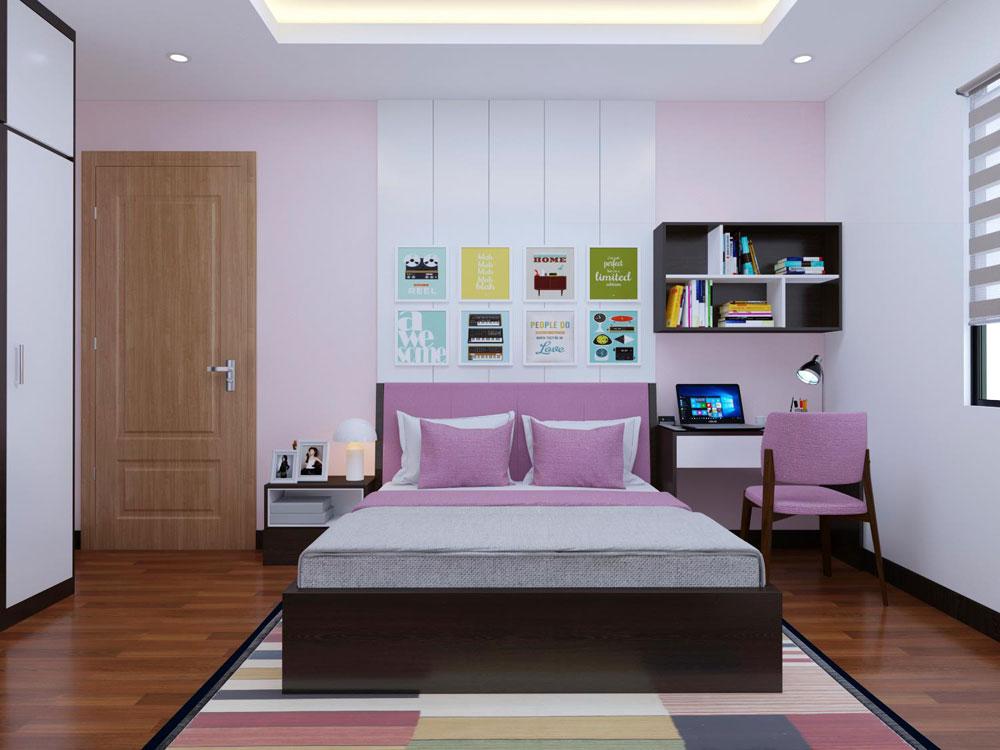 thiết kế nội thất chung cư 72m2 ảnh 10