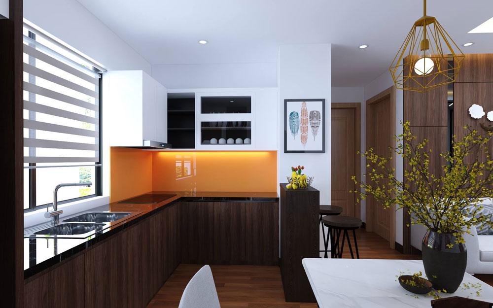 thiết kế nội thất chung cư 72m2 ảnh 11