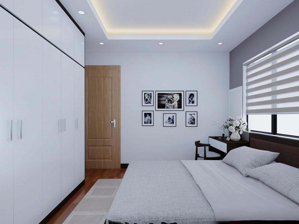 thiết kế nội thất chung cư 72m2 ảnh 5