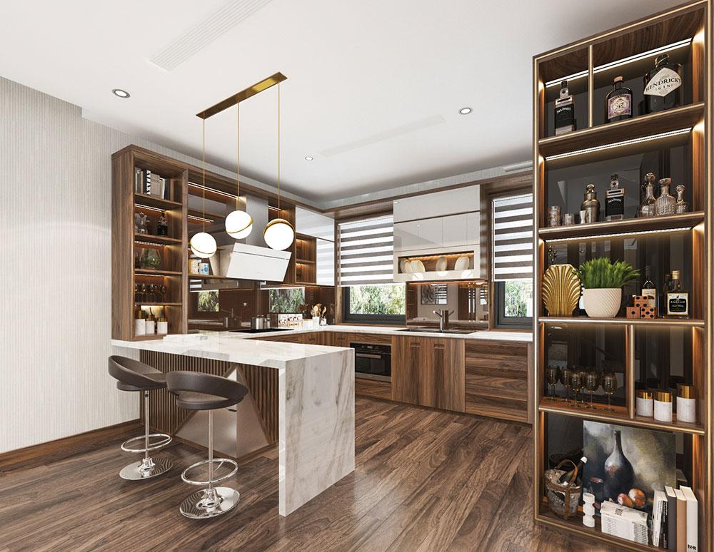Tủ bếp lưu trữ ẩn lựa chọn hoàn hảo cho phòng bếp của bạn