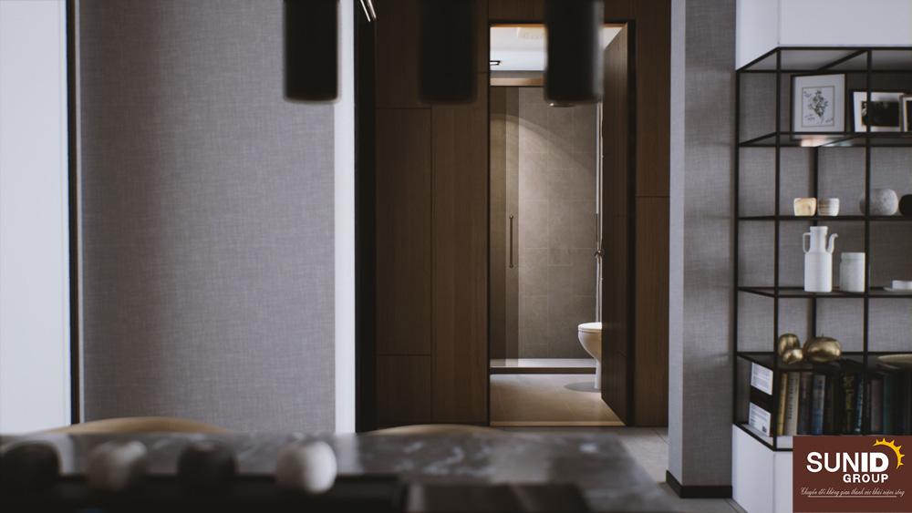 Khu vực nhà vệ sinh