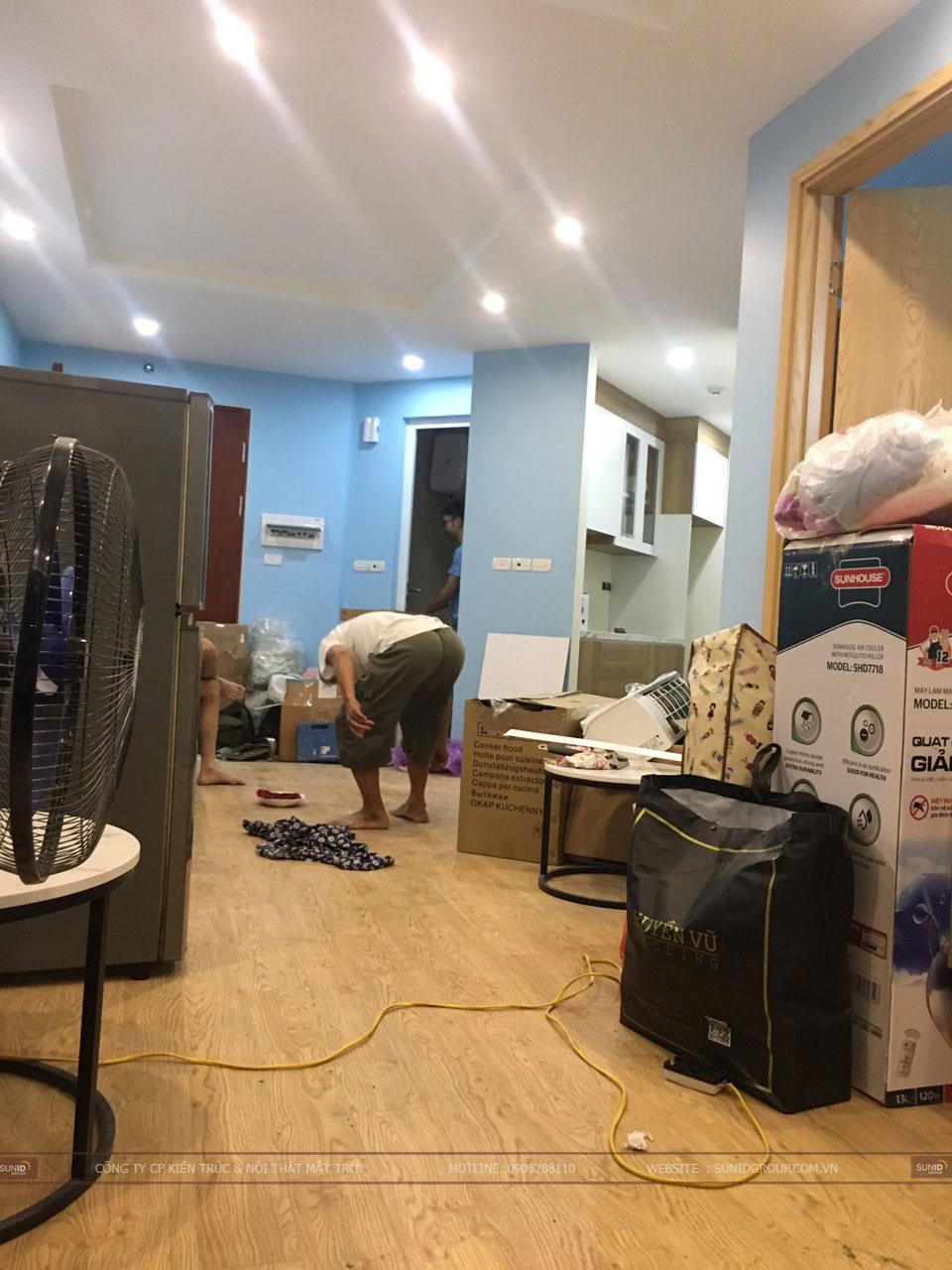 Lắp đặt nội thất không gian bếp