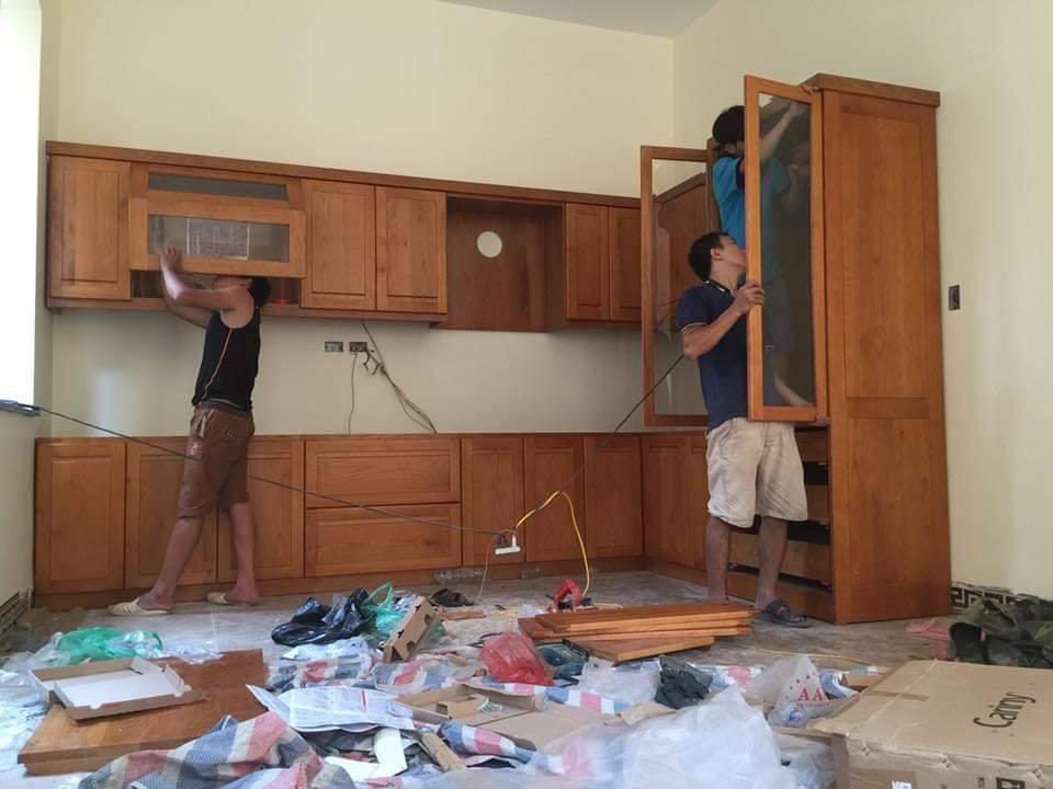 Lắp đặt hoàn thiện nội thất chung cư Florence Trần Hữu Dực